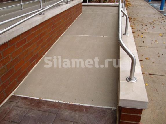 пандусы из бетона